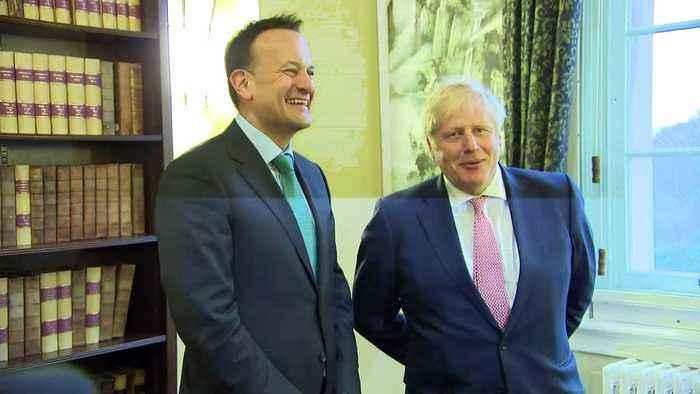 British and Irish Prime Ministers meet in Belfast