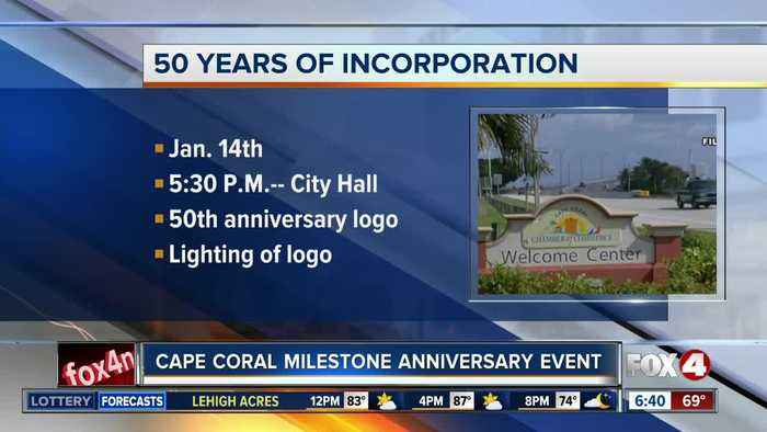 Cape Coral hosting event to mark city's 50th anniversary