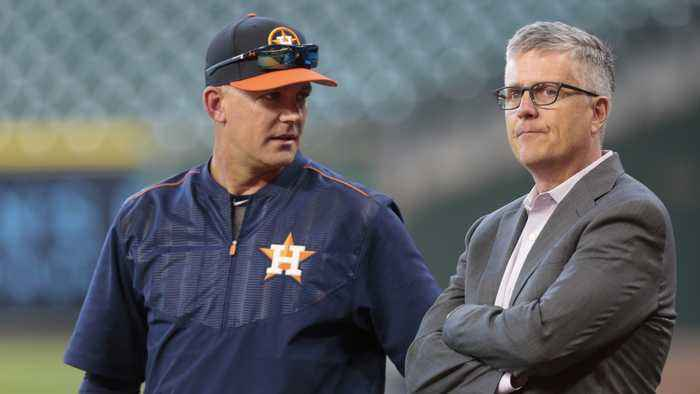 Houston Astros Fire GM And Manager For Sign-Stealing