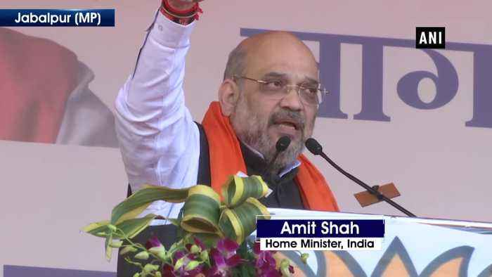 Sky high Ram Temple will be built in 4months stop if you can Amit Shah dares Congress