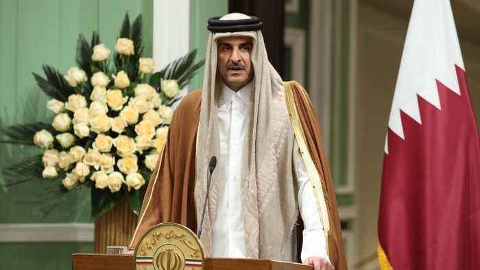 Qatari emir in Iran: 'De-escalation' the only way forward