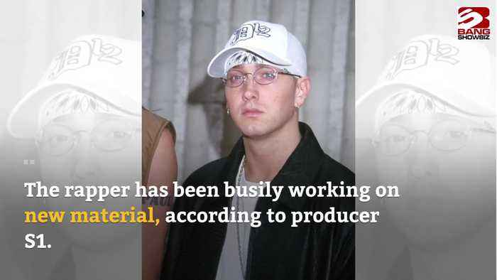 Eminem is working on new music, says producer