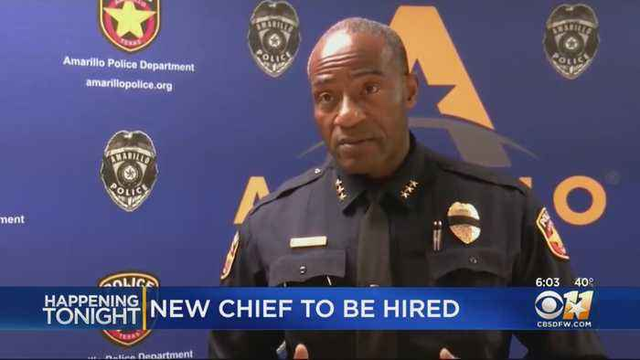 History In Plano With Official Hiring Of African American Police Chief
