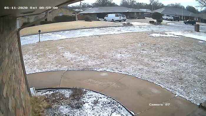 Security Cameras Help Stop Would-Be Porch Pirate