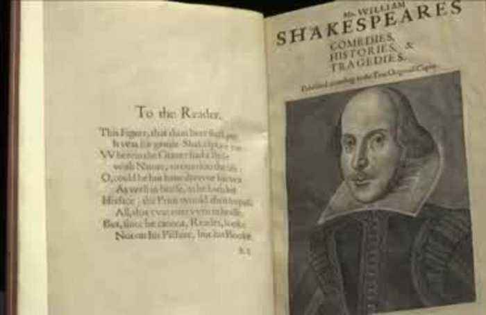 Rare Shakespeare's First Folio to be sold at auction