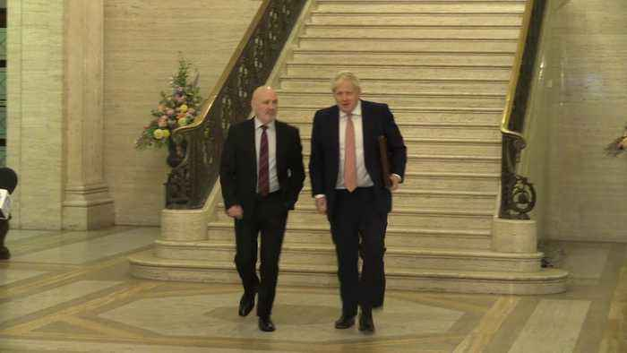 Boris Johnson: Northern Ireland can enjoy bright future