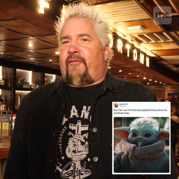 Guy Fieri reacts to his craziest memes