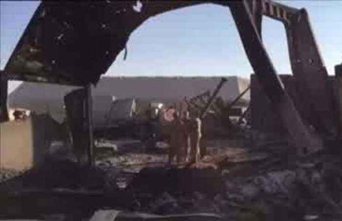 Inside the charred Iran-bombed Iraq joint base