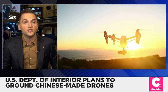 U.S. Interior Department Plans to Ground Chinese-made Drones