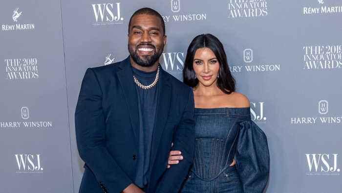 Kim Kardashian insists Kanye West isn't horse rider in viral video