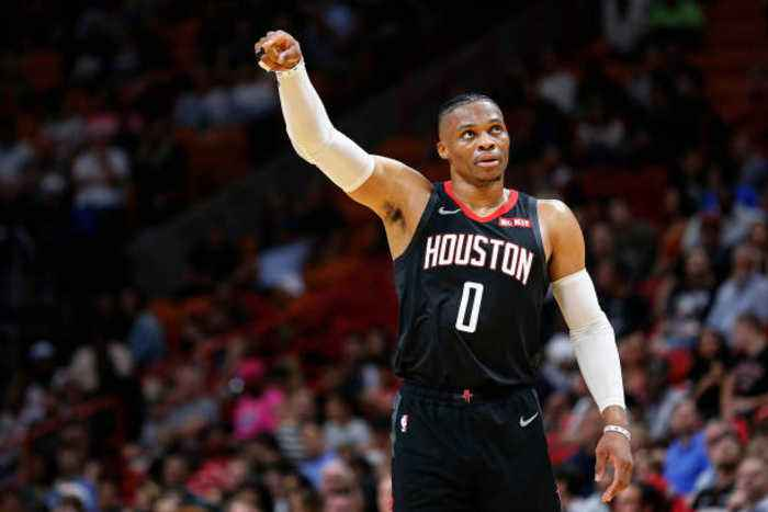 Russell Westbrook Honored in Return to Oklahoma City
