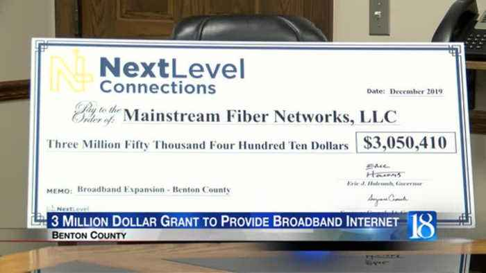 Benton county is now one step closer to having broadband