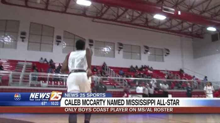 High School Boys Basketball: Caleb McCarty named Mississippi All-Star
