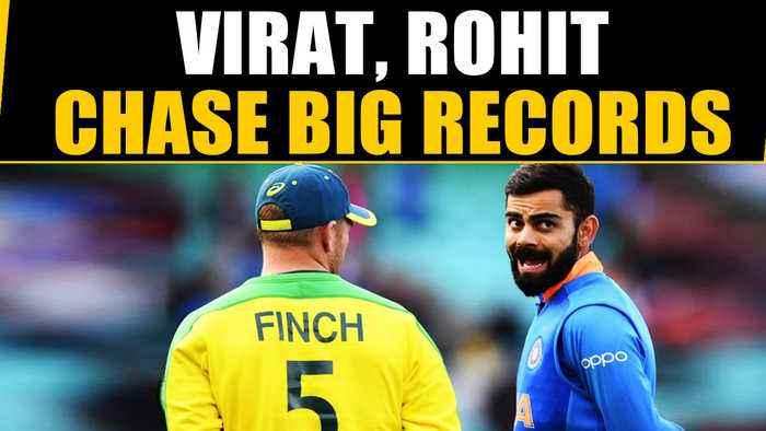 VIRAT KOHLI, ROHIT SHARMA EYE BIG RECORDS AGAINST AUSSIES | Oneindia News