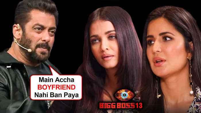 Salman Khan SHOCKING Statement On AFFAIR With Aishwarya Rai, Katrina Kaif  Bigg Boss 13