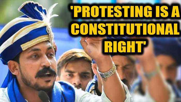 Chandrashekhar bail plea hearing: Judge says protests are a constitutional right| OneIndia News