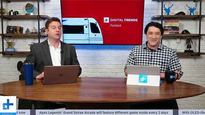 Digital Trends Live - 1.14.20   Rover McRoverface Mars Rover + Living Robots Are Here