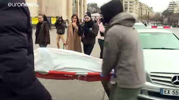 Sea Shepherd brings dead dolphins to central Paris to make their point