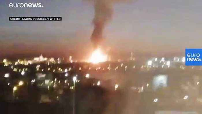 Massive explosion sparks chemical emergency in Spain