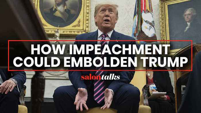 Could Trump turn his impeachment into a strength?