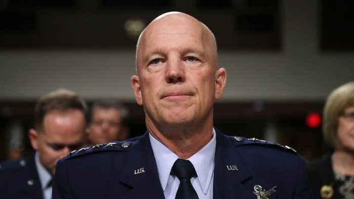 Gen. John Raymond Sworn In As Chief Of Space Operations