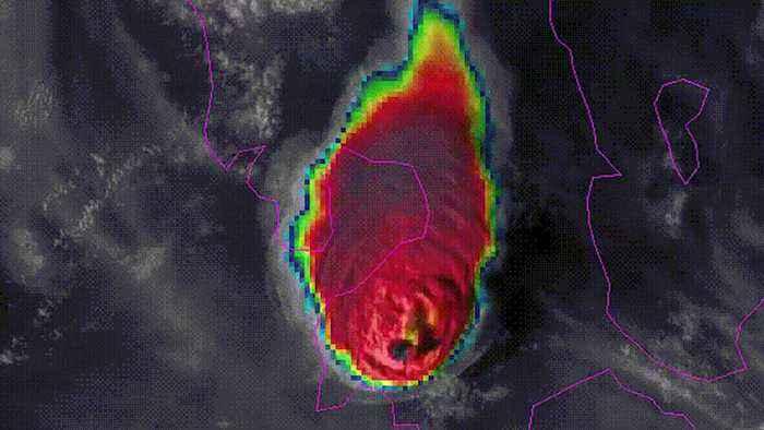 Philippines volcano: Satellite images show Taal eruption