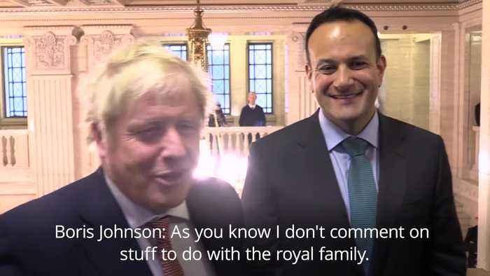 Boris Johnson dodges question about royal family