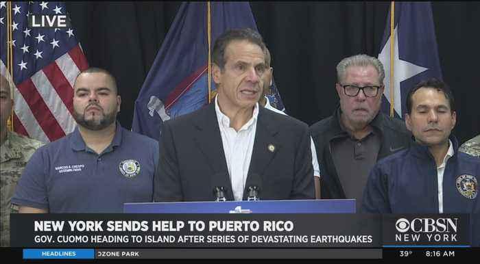 New York Sending Help To Earthquake-Striken Puerto Rico