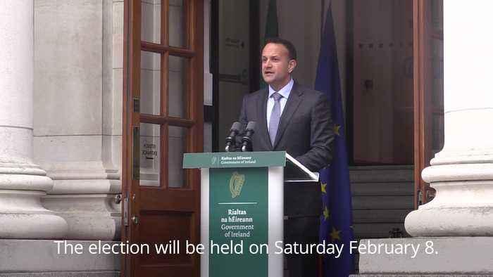 Leo Varadkar announces February election in Ireland