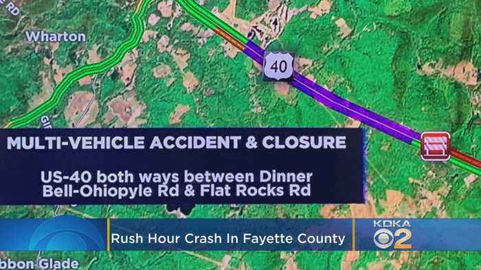 Fayette Co. Coroner's Office Called To Multi-Vehicle Crash In Henry Clay Twp.
