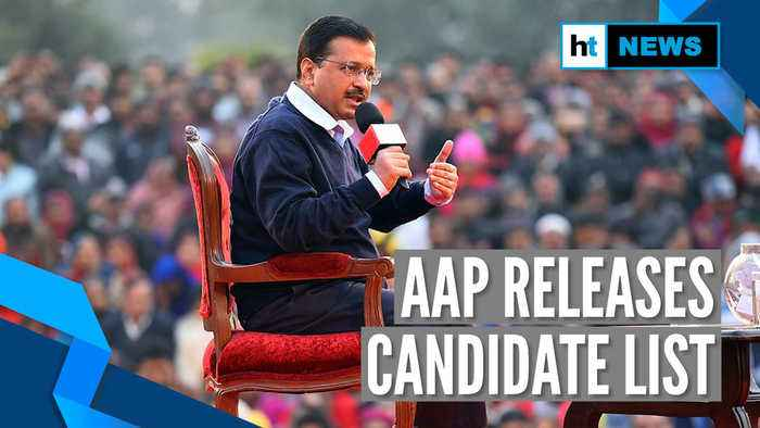Delhi Elections 2020: AAP releases list of candidates, 15 sitting MLAs replaced