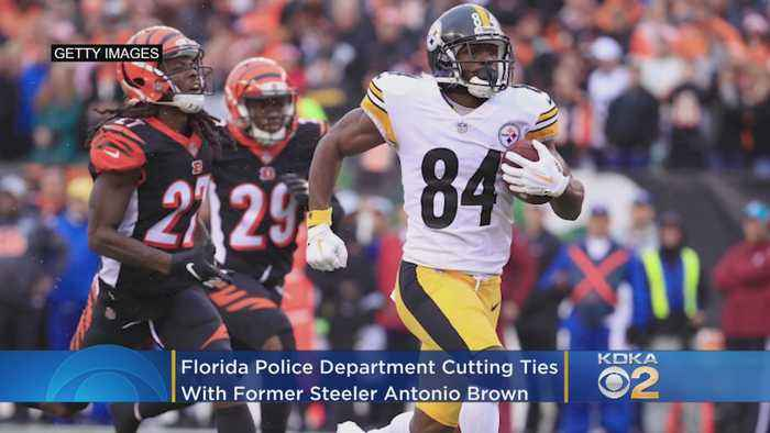 Florida Police Cut Ties With Former Pittsburgh Steelers Wide Receiver Antonio Brown