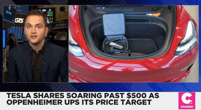 Tesla Shares Soared Past $500