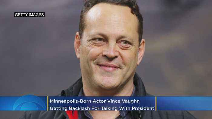 Minneapolis-Born Actor Vince Vaughn Getting Backlash For Talking To President Trump