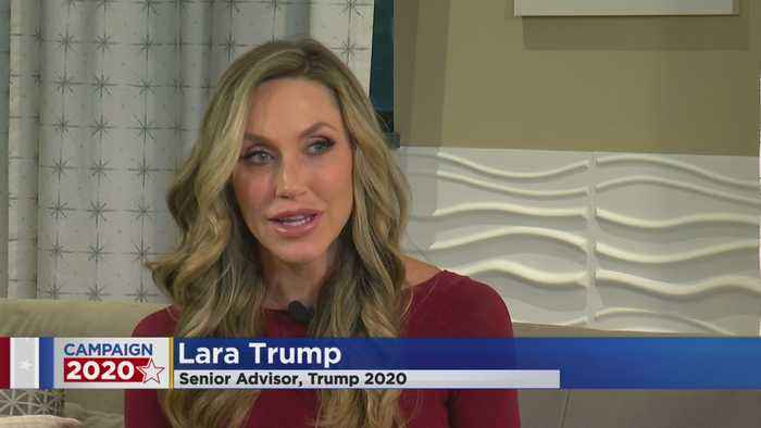 Lara Trump Talks Importance Of MN And WI To POTUS' Reelection Campaign