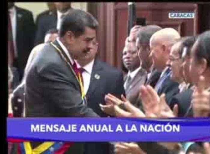 Maduro in nat'l address slams Guaido