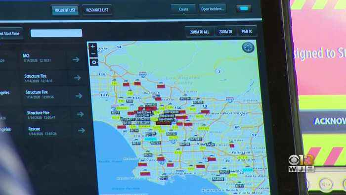 Baltimore Technology Company Helps Firefighters Navigate To Safety In Australia