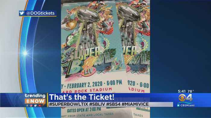 Trending Now: First Look At Super Bowl Tickets