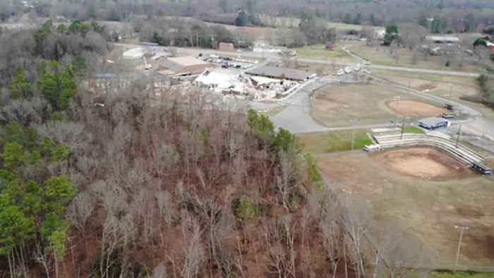 Aerial footage shows tornado damage in Marshall County (9)