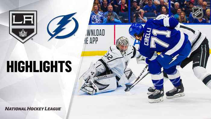 NHL Highlights | Kings @ Lightning 01/14/20