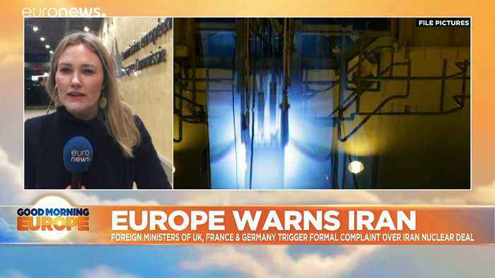 EU nations trigger dispute mechanism in last-ditch bid to save Iran deal