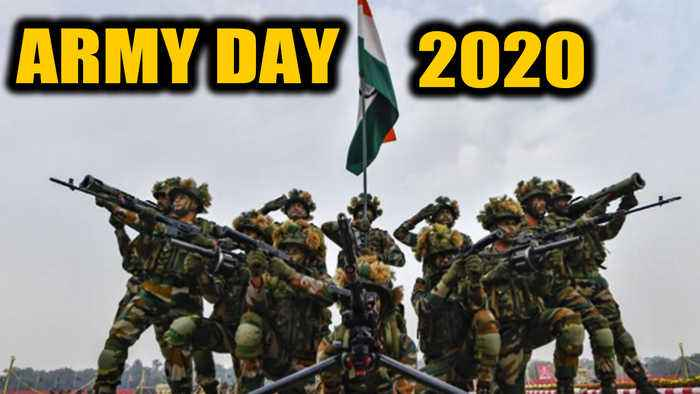 Army Day 2020: India remembers the valour and sacrifices of Armed forces | OneIndia News