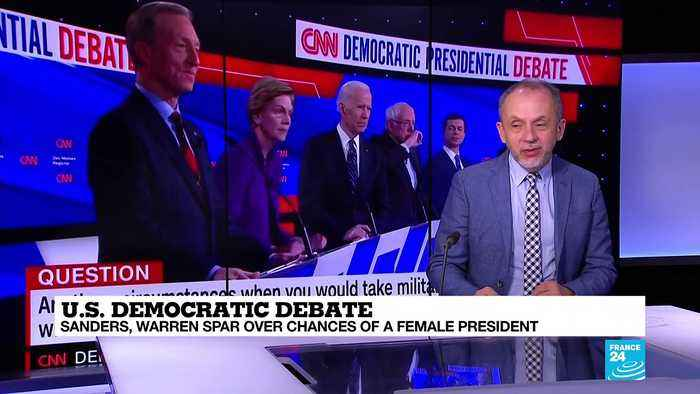 What are the takeaways of the seventh US Democratic debate?