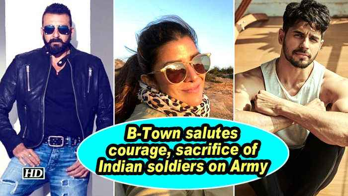 B-Town salutes courage, sacrifice of Indian soldiers on Army Day