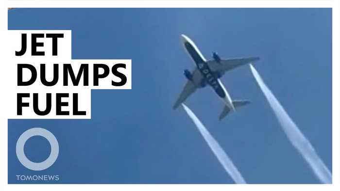 Delta aircraft dumps fuel on school before landing at LAX