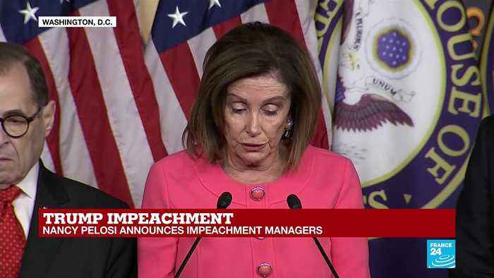 Nancy Pelosi lays out 'incriminating evidence' revealed since passing articles of impeachment