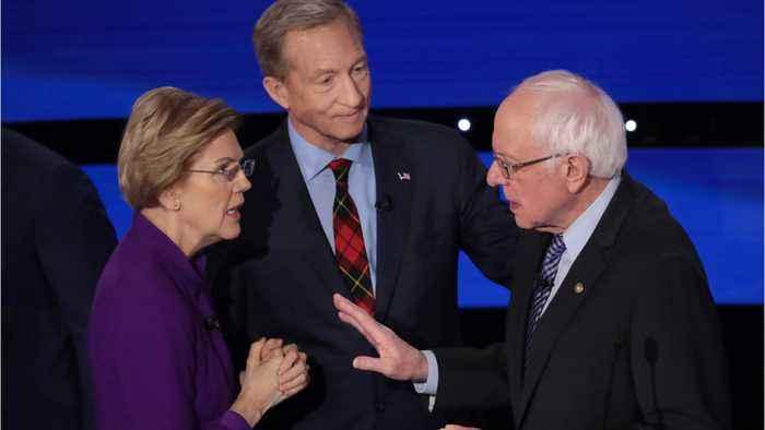 How Joe Biden Benefits From Warren/Sanders Feud
