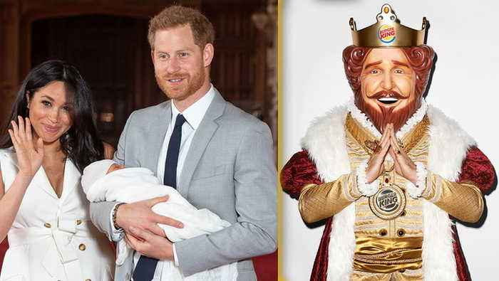 Prince Harry & Meghan Markle Get Burger King Job Offer After Royal Family Exit