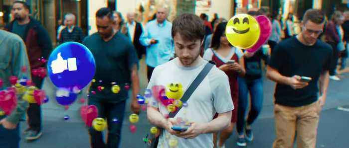 Guns Akimbo movie (2020) - Daniel Radcliffe, Samara Weaving