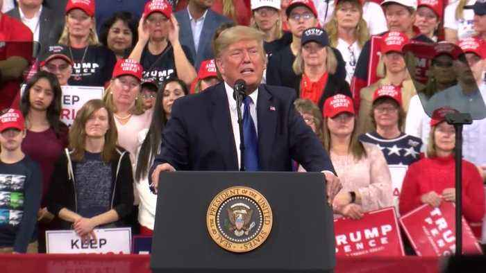President Trump ramps up re-election campaign during Milwaukee rally